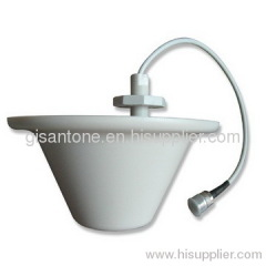 698-2700MHz LTE 4GHz Indoor Omni Ceiling Antenna With 3-5dBi Terminal Ceiling Mount Antenna