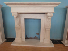 marble fireplace surround design