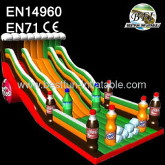 Customized Inflatable Dry Slide For Sale