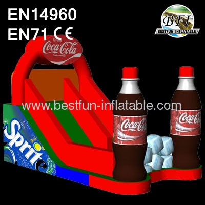 2014 Coca Cola Inflatable Slide New