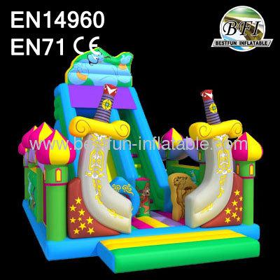 Inflatable Aladdin Bounce Slide 2014 New