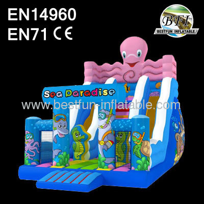 2014 New Inflatable Paradise Slide Design