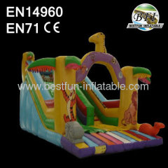 Hot Sale Inflatable Safari Slide