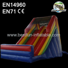 Rear Loading Large Inflatable Adult Slide