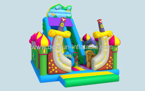 2013 New Inflatable Aladdin Slide
