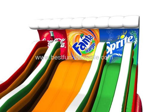 Coca Cola Dry Slide