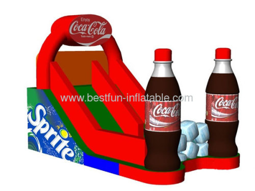 Creative Coca Cola Dry Slide