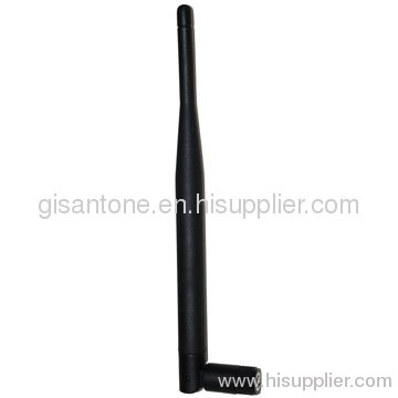 1920-2170MHz 3G Terminal Rubber Router Antenna 3dBi RP-SMA Fold 90 Degree Connectors