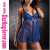 Blue Sexy Maxine Babydoll