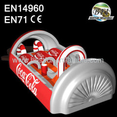 Inflatable Customized Coca-Cola Obstacle Course