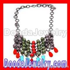 Cheap Colorful Beaded Necklace
