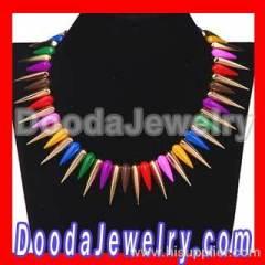 Punk Spike Choker Necklace