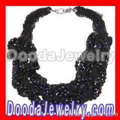 Vintage Beaded Choker Necklaces