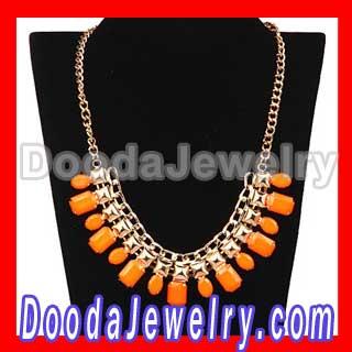 metal choker bib collar necklace