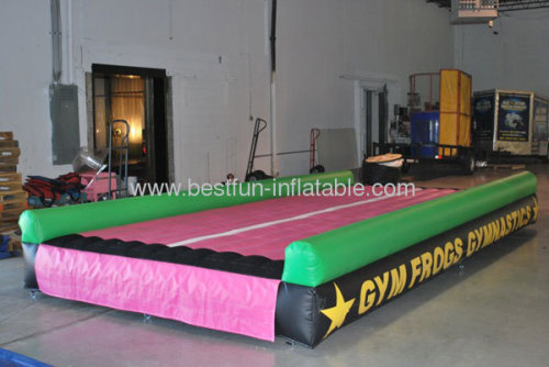 Indoor Inflatable Tumble Gym Air Track