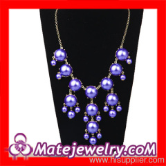 Fake Pearl Bead Necklace