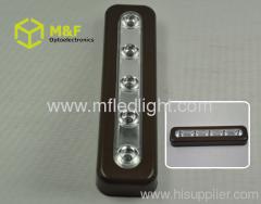led push button light