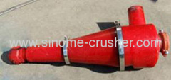 Stable quality hydraulic cyclone for beneficiation