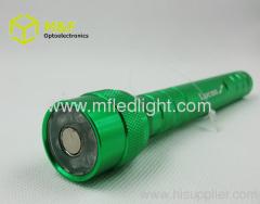 Aluminum magnetic telescopic flashlight