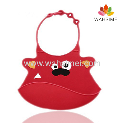 famous silicone baby bibs