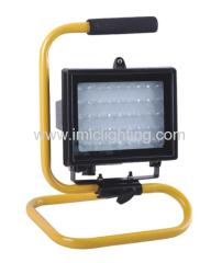 2.7W Aluminium LED work Light with portable bracket