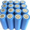 Lithium Ion Rechargable Batteries SAMSUNG ICR18650 3.6V 2.2Ah/ 2200mAh