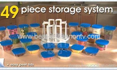 49pcs Storage System Home Storage Storage Set