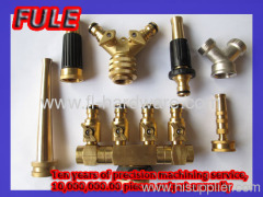 brass hose nozzle customized