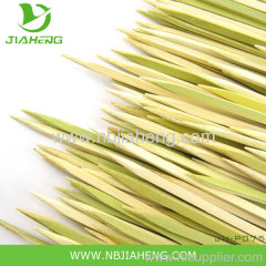 Green Barbecue bamboo skewers wholesale