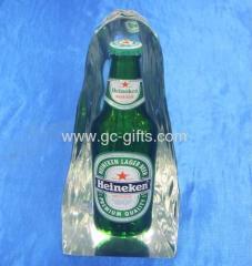 acrylic Heineken model blocks