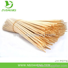 "6"" 10"" 12"" 18"" bamboo barbecue skewers with header card"