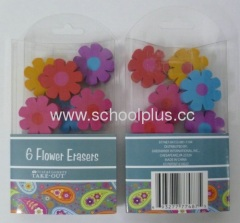 Eraser with Pvc Gift Packaging Box