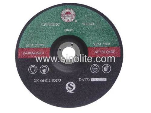 Grinding Discs for stone and brick C 24 R resin bonded reinforced abrasives