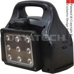 Portable Solar Power Station Inverter LED Work Light 9xLED