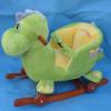 playful rocking horse with sound(EN, ASTM)