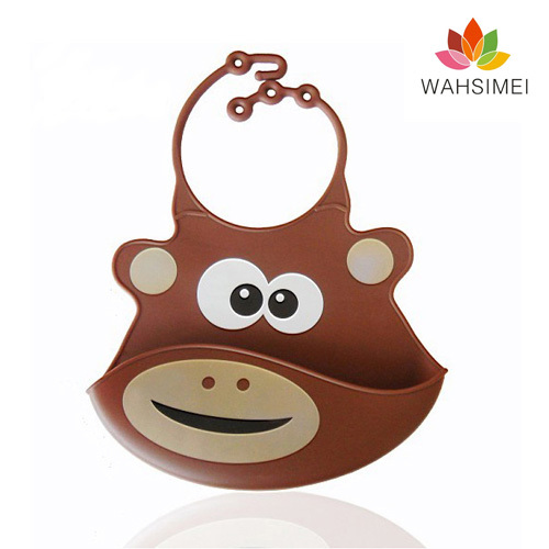 2013 Best quality silicone baby bibs for cute baby
