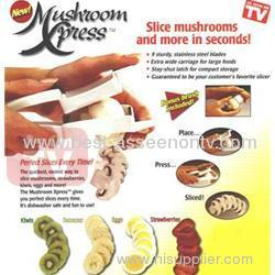 Food Press With Brush mushroom express as seen on tv