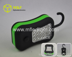 led worklight with magnet and hook