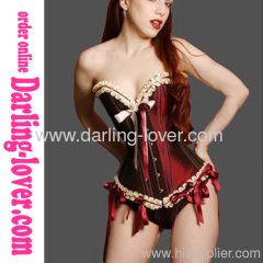 Red Lace Magic Corset
