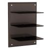 Three shelves DVD rack