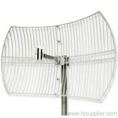 2500-2700MHz 2.6G LTE 4G 24dBi Outdoor Directional Parabolic Grid Antenna