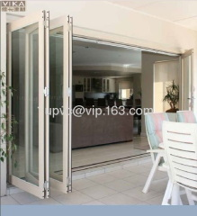 7 Panels Large Open Commercial Multi-fold Door,Exterior door Bi ...