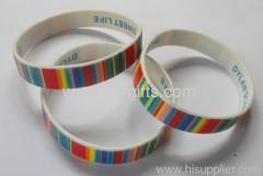 Custom cheap silicone bracelets