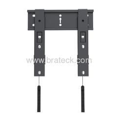 Ultra slim fixed TV bracket