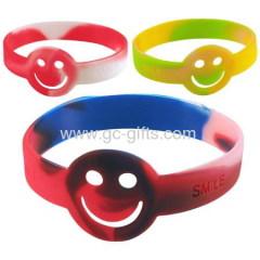 Party multi-color silicone bracelets