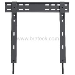 Fixed TV wall mount rack