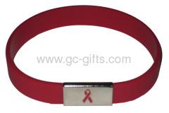 Red rubber bracelets cheap