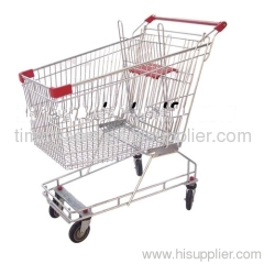 60-210 Liters Supermarket trolleys Shopping Cart /euro truck