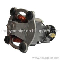 AC universal motor for blender