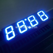 Four Digits 7 segment led clock display 0.4